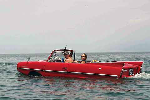 The Amphicar, neither a great car nor  boat, are now quite valuable collectibles