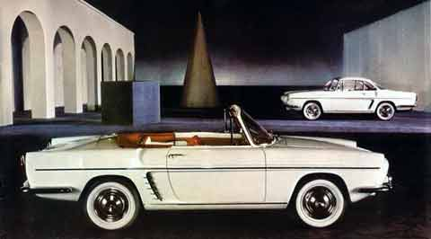The Caravelle was originally introduced as the Floride, Renault felt this name was not right for California's hot import market