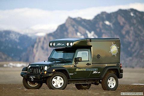 the environmentally-friendly XV-JP offered by Colorado-based EarthRoamer