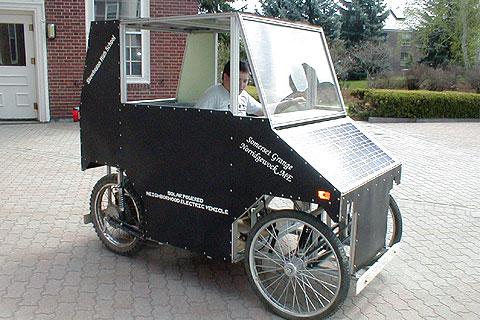 SUNN solar car.