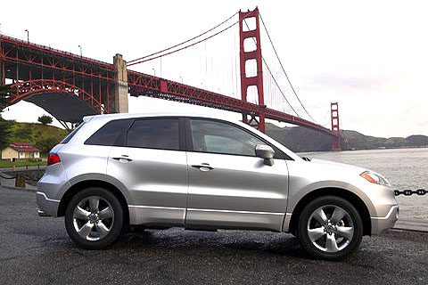 2008 Acura RDX Compact Luxury Sport Utility Vehicle with Technology Package