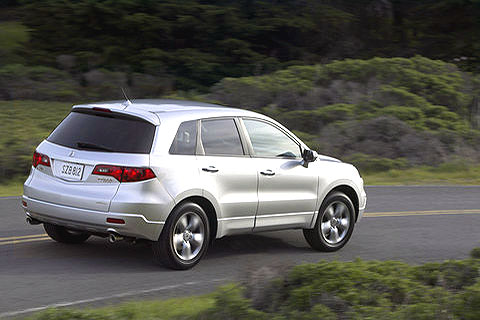 Unfortunately, the RDX's body doesn't match its inspiring performance.
