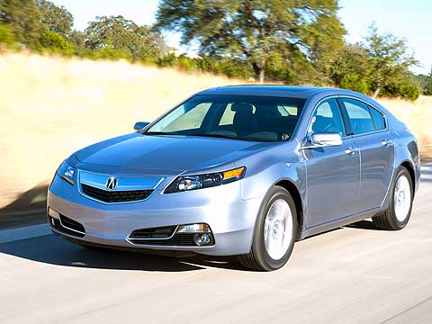 The 2012 Acura TL has swapped its giant, much-maligned grille for a smaller, more tasteful nose. It also gets a new six-speed automatic transmission.