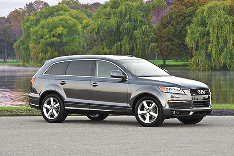 Driving a luxury tank is all about power, comfort and image, and the Q7 provides all those in abundance.