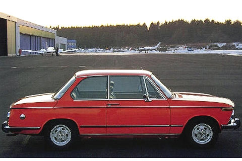 1968 Bmw 2002. 1968 BMW 2002ti - enlarge