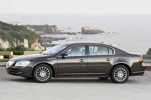 Buick Lucerne was first launched in 2006 and replaced the Buick LeSabre and Park Avenue.