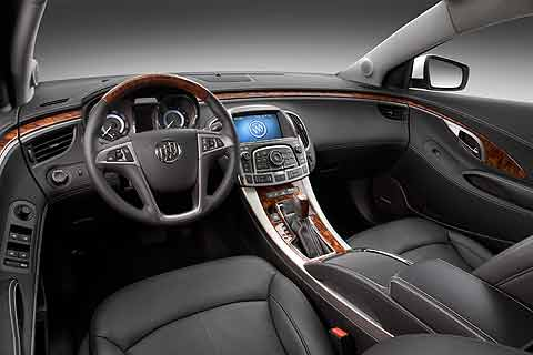 2010 Buick LaCrosse CXS Mid-sized Near-Luxury Sedan interior photo
