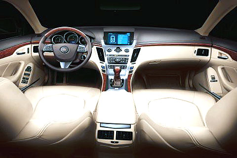 A new interior addresses the old CTS's greatest weakness. With soft-touch materials and tight, squeak-free construction, it's a major improvement over the original CTS.