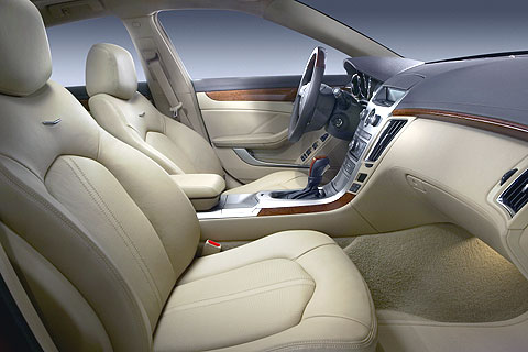 The Cadillac CTS' seats now are much better designed, and the quality has been vastly improved.