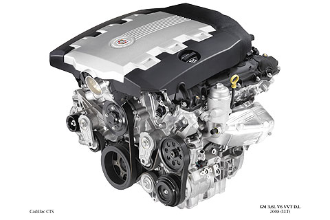 The Cadillac CTS has two available engine options.