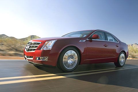 This year's CTS has more precise steering.