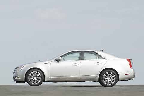 2008 Cadillac CTS MSRP $32,245 to $36,445 is a mid-size luxury sedan available in two trim levels both come with a 304-horsepower, 3.6-liter, V6 engine