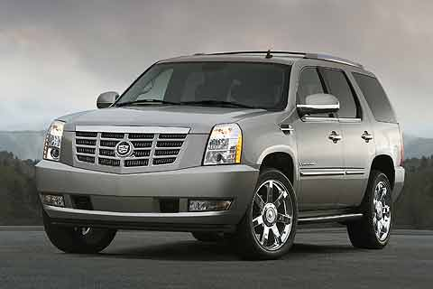 The 2008 Cadillac Escalade is the companies flagship SUV Sport Utility Vehicle