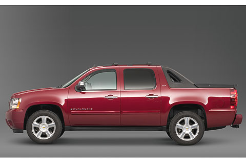 The Chevrolet Avalanche was first introduced in 2002.