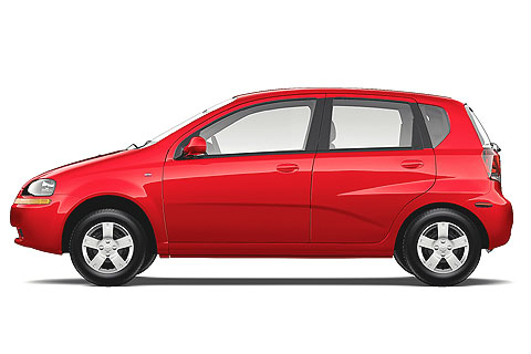The hatchback version comes in two trim levels - LS and LT. Chevrolet Aveo