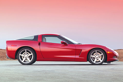 The Corvette was Motor Trend magazine's Car of the Year for 1984 and 1998.