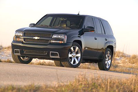 The Chevrolet Trailblazer is the successor to the Chevrolet Blazer.