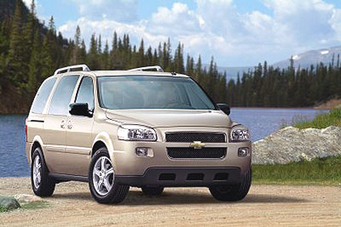This model is built on the same platform as the Saturn Relay, Buick Terraza, and Pontiac Montana SV6.