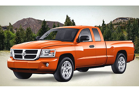 Dodge Dakota - exterior.