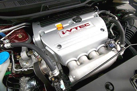 All that fun starts with the engine. It winds up to 8,000 RPM.