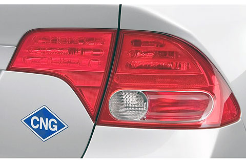 Today, the Honda Civic GX is the only car offered by an auto manufacturer that can run on natural gas.