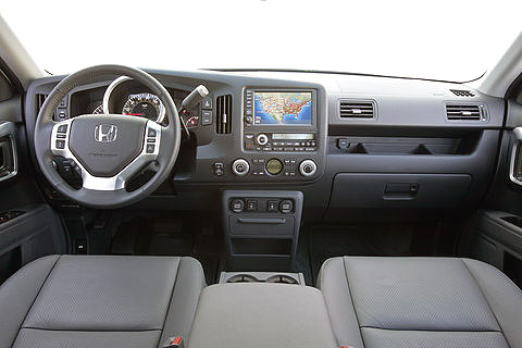 2006 Honda Ridgeline Interior. The Ridgeline is Honda#39;s
