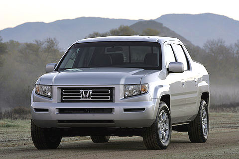 The Ridgeline has a side-impact door beam