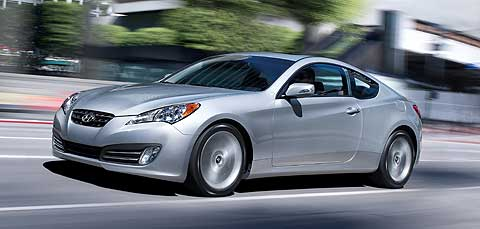The 2010 Hyundai Genesis Coupe is a purpose-built rear-wheel drive sport coupe designed to compete with the cars from BMW, Infiniti, Lexus and now Cadillac
