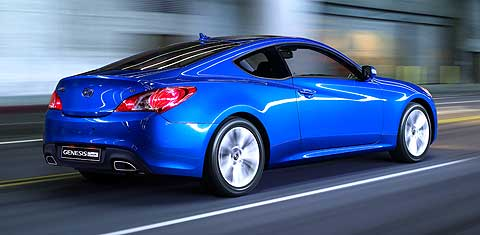 The mission for Hyundai Genesis Coupe was to create a pure performance car with a design that would capture the imagination of hardcore automotive enthusiasts