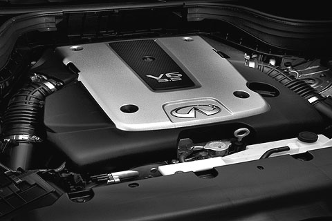 Aside from its angelic suspension, a 297-horsepower V6 engine always keeps things interesting.