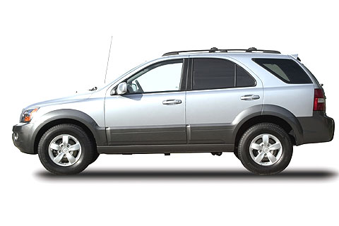 The 2008 Kia Sorento Midsize Sport Utility Vehicle - enlarge