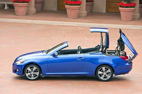 The all-new 2010 Lexus IS 350C and IS 250C hard-top convertibles give Lexus a coupe and convertible in the entry luxury segment for the first time