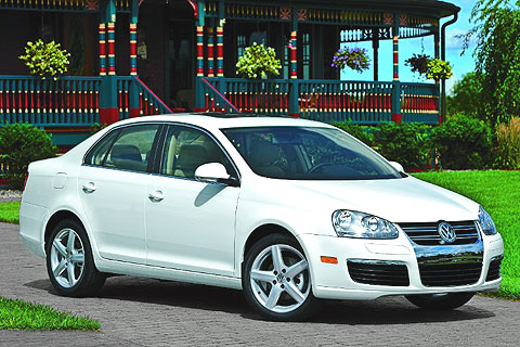 The Jetta handles well and was comfortable even over the bumpy sections of the local roads where we do our test drives.