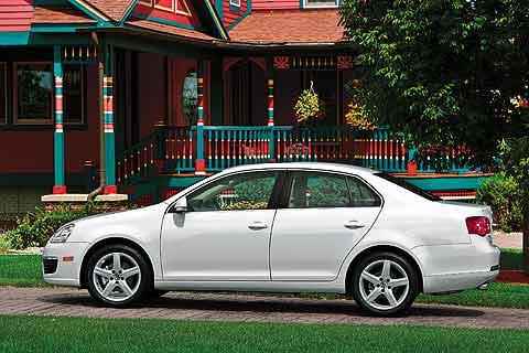2008 Volkswagen Jetta compact sedan2008 Volkswagen Jetta - enlarge