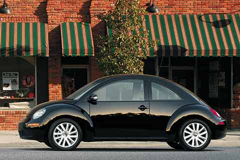 2008 Volkswagen New Beetle compact coupe