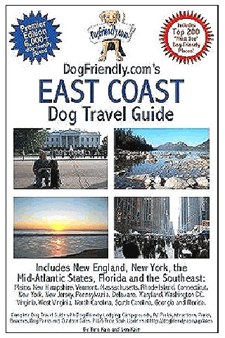 This all new travel guide is designed for the dog lover who can now have access to thousands of places to visit with their dog.